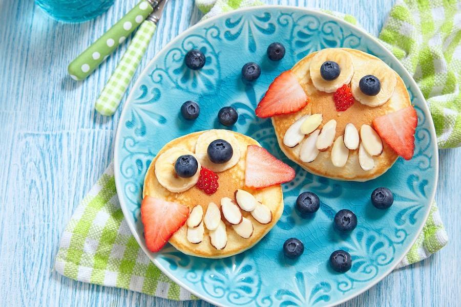 Gesundes Frühstück: Pancakes