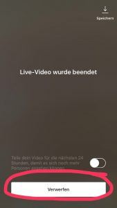 Instagram Update: Live-Videos