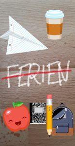 Instagram Sticker und Pinsel