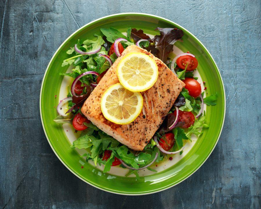 Brainfood Omega-3-Fettsäuren in Lachs