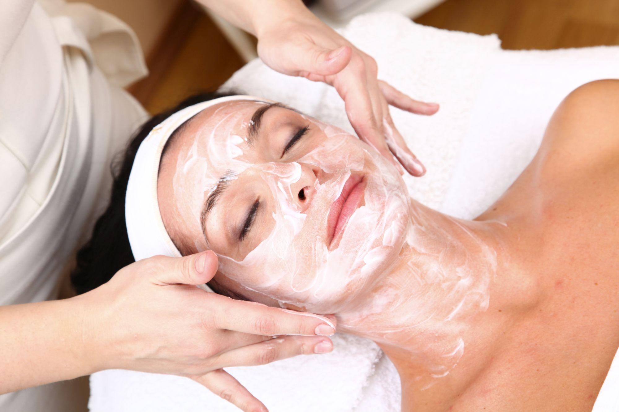Rosacea Gesichtsbehandlung