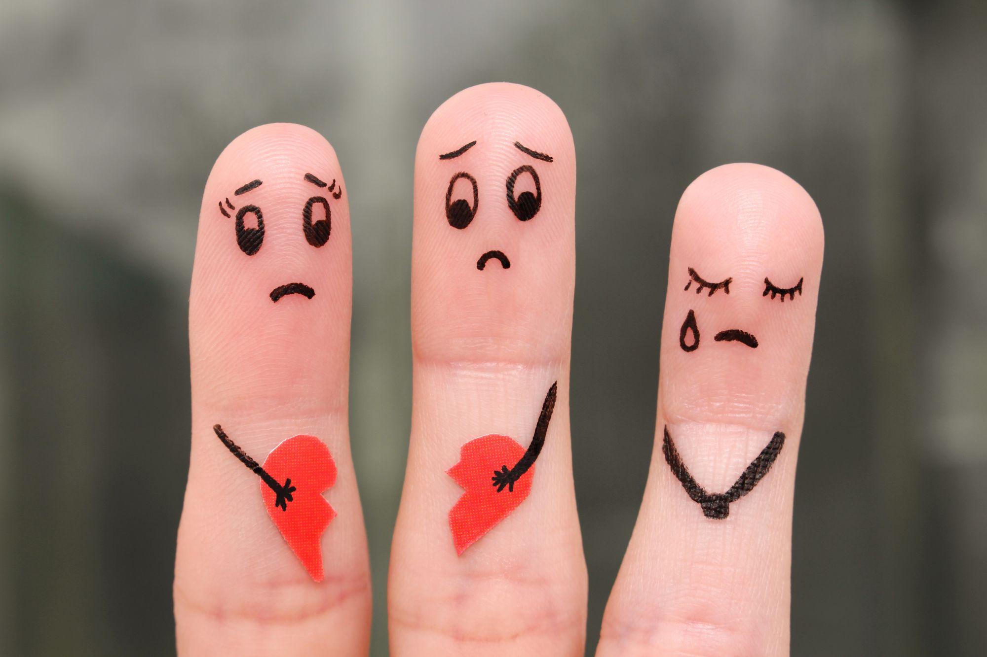 Scheidung der Eltern: Folgen und Konflikte