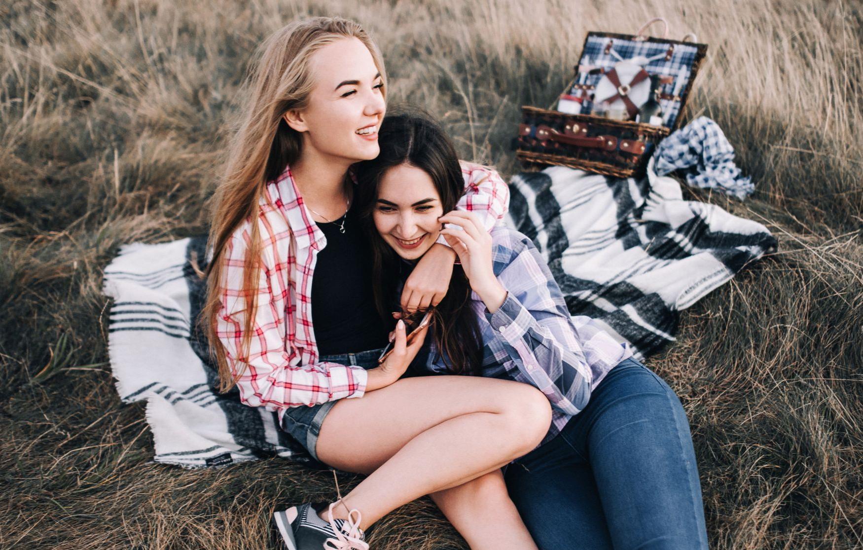 Beste Freunde Freundin Real