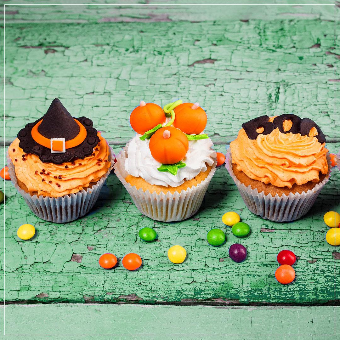 Hokkaido Muffins Halloween Rezept