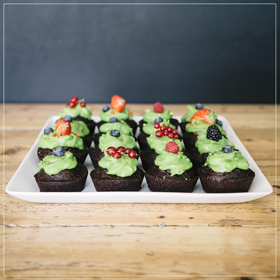 Avocado-Schoko-Muffins Rezept