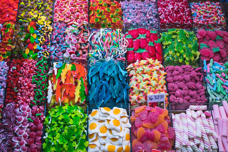 ... auch in vielen Süßigkeiten