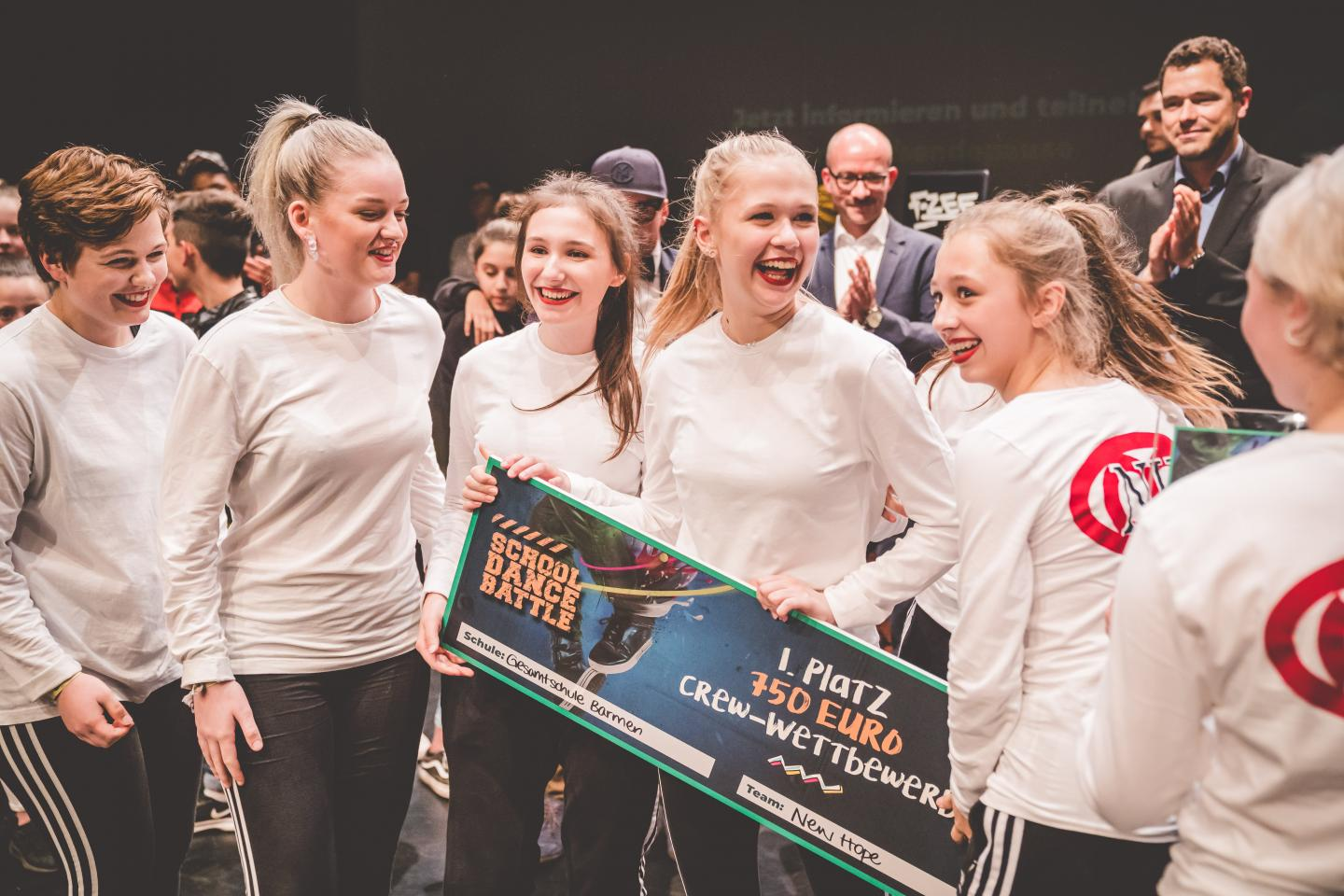Gewinner des School Dance Battles 2019