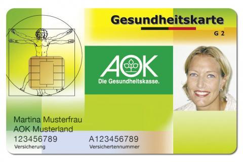Versichertenkarte AOK