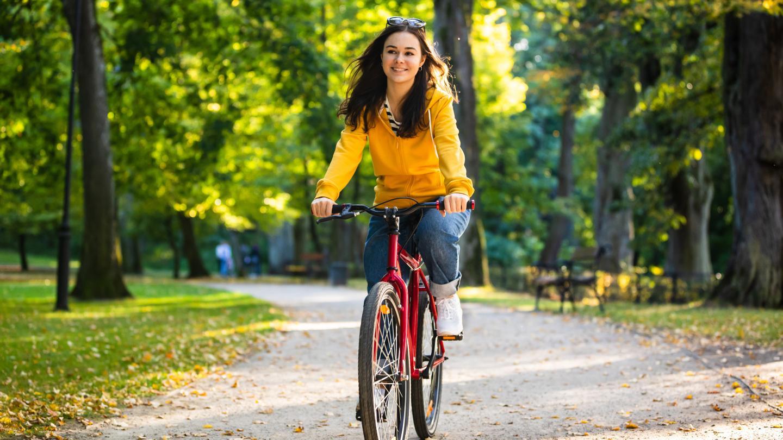 Autofasten: Einfach mal aufs Fahrrad schwingen