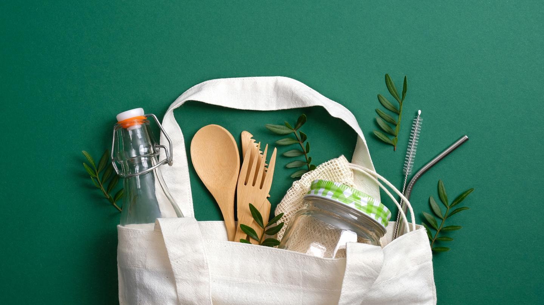 Nachhaltiges Picknickgeschirr