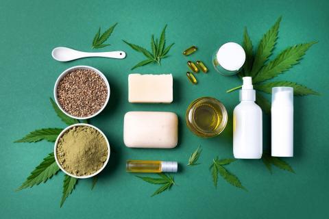 CBD und Cannabis Produkte